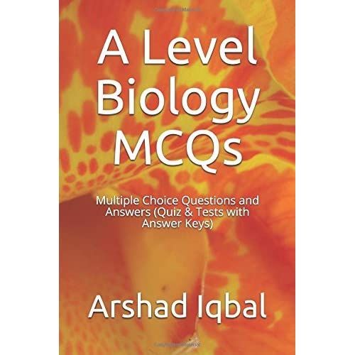 A Level Biology MCQs: Multiple Choice Questions and Answers