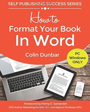 How to Format Your Book in Word