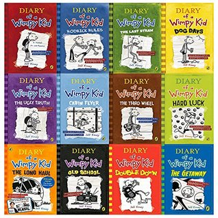 Diary Of A Wimpy Kid Collection 12 Books Set Diary Of A Wimpy Kid Rodrick Rules The Last Straw Dog Days The Ugly Truth Cabin Fever The Third Wheel Hard Luck The Long Haul The Getaway Hardcover By Jeff Kinney