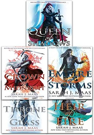 Throne of Glass Series Collection