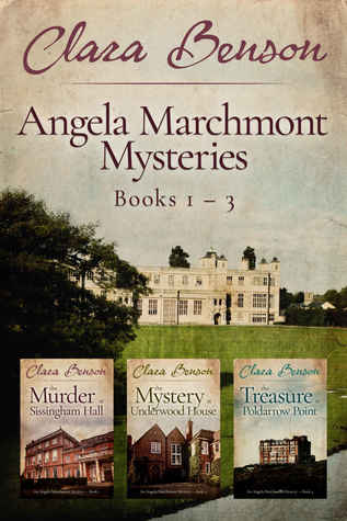 Angela Marchmont Mysteries: Books 1-3 - The Murder at Sissingham Hall, The Mystery at Underwood House, The Treasure at Poldarrow Point