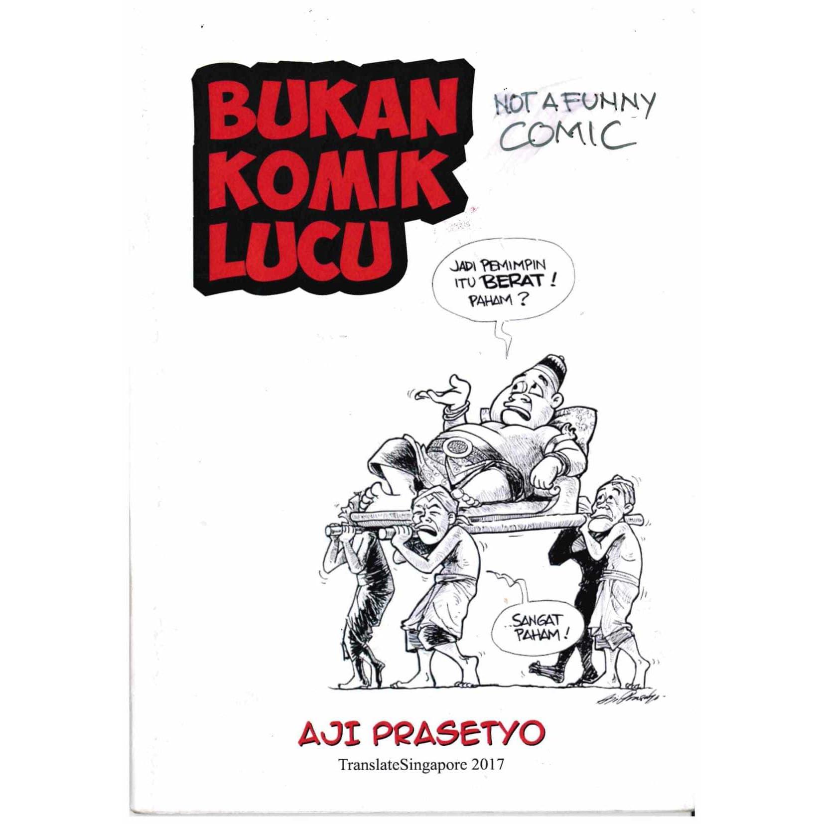 Bukan Komik Lucu By Aji Prasetyo