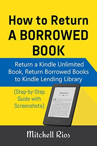 How to return kindle unlimited books
