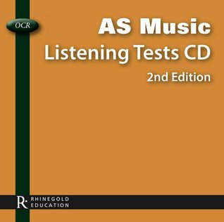 OCR AS Music Listening Tests CD