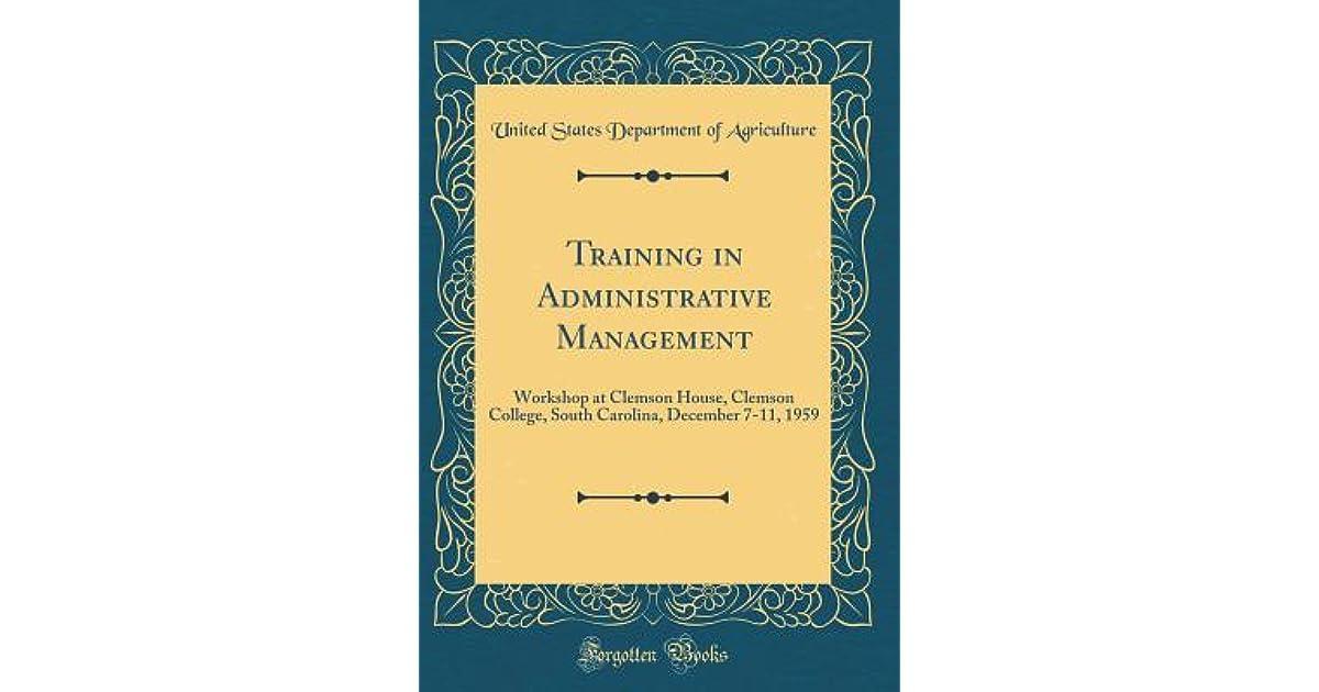 Book administrative management