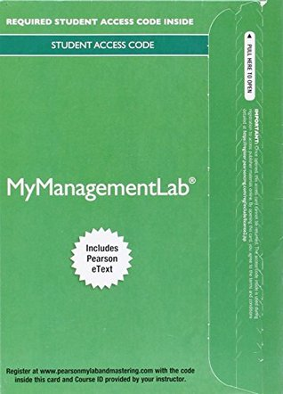 MyLab Management with Pearson eText -- Access Card -- for International Business: The Challenges of Globalization