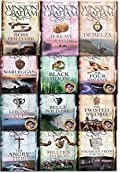 Winston Graham Poldark Series 12 Books Collection Set (Ross Poldark, Demelza, Jeremy Poldark, Warleggan, The Black Moon, The Four Swans, The Angry Tide, The Stranger From The Sea, The Miller's Dance..