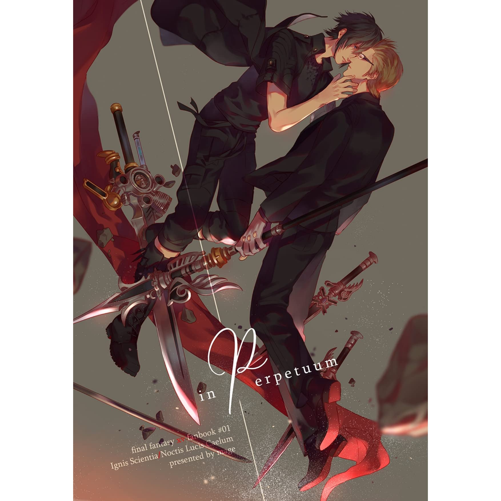 In perpetuum (FFXV - Ignis/Noctis doujinshi book #01) by Mage