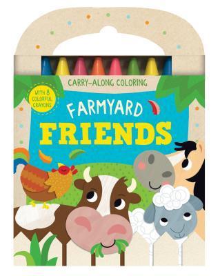 Farmyard Friends: Carry-Along Coloring Parragon Books Ltd