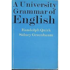 gratuit a university english of grammar quirk