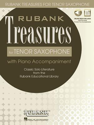 Rubank Treasures for Tenor Saxophone: Book with Online Audio (Stream or Download)