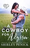 A Cowboy for Alyssa (Burlap and Barbed Wire #1)