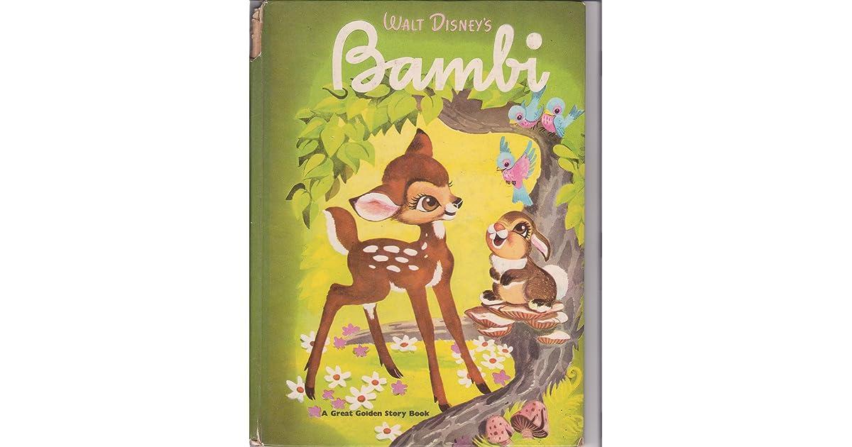 Walt Disney S Bambi A Golden Book By Melvin Shaw