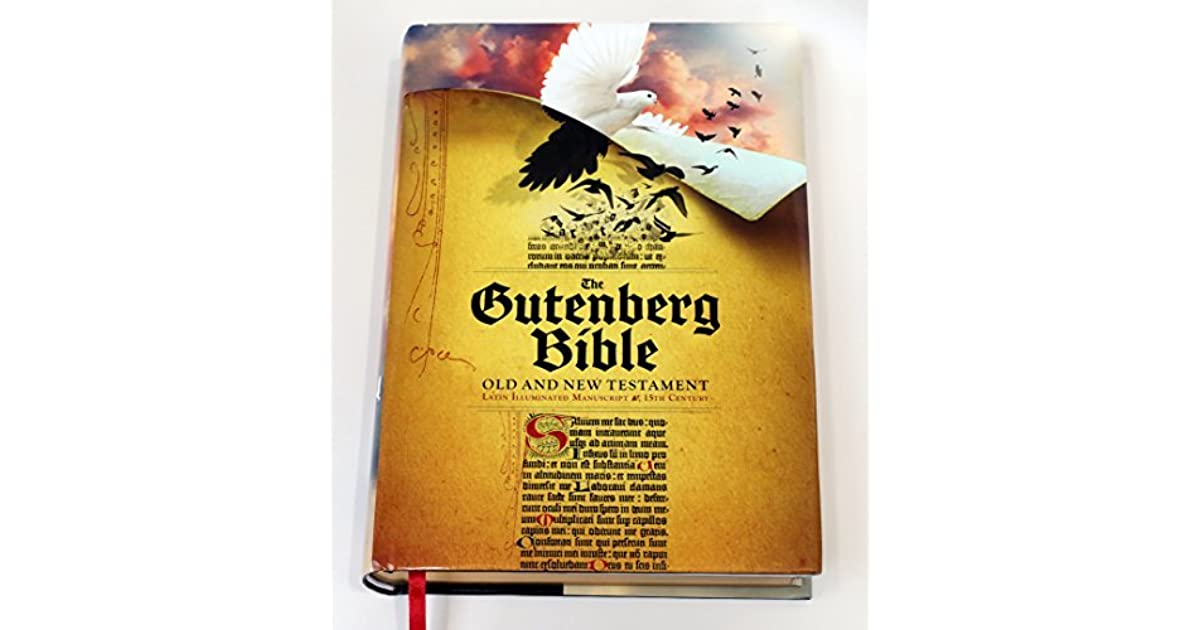 The Gutenberg Bible-Old and New Testament-Full Color Hardcover Collectors Volume