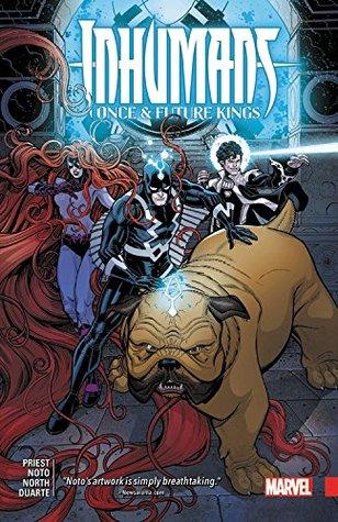 Inhumans by Christopher J. Priest