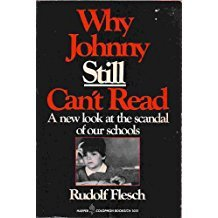 Why Johnny Still Can't Read