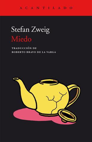 Miedo by Stefan Zweig