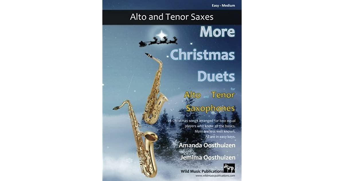 More Christmas Duets for Alto and Tenor Saxophones: 26