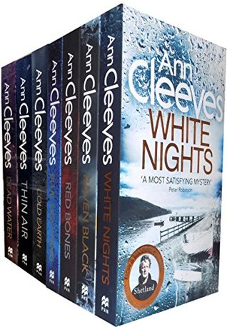 Ann Cleeves Shetland Series Collection 7 Books Set (Book 1-7)