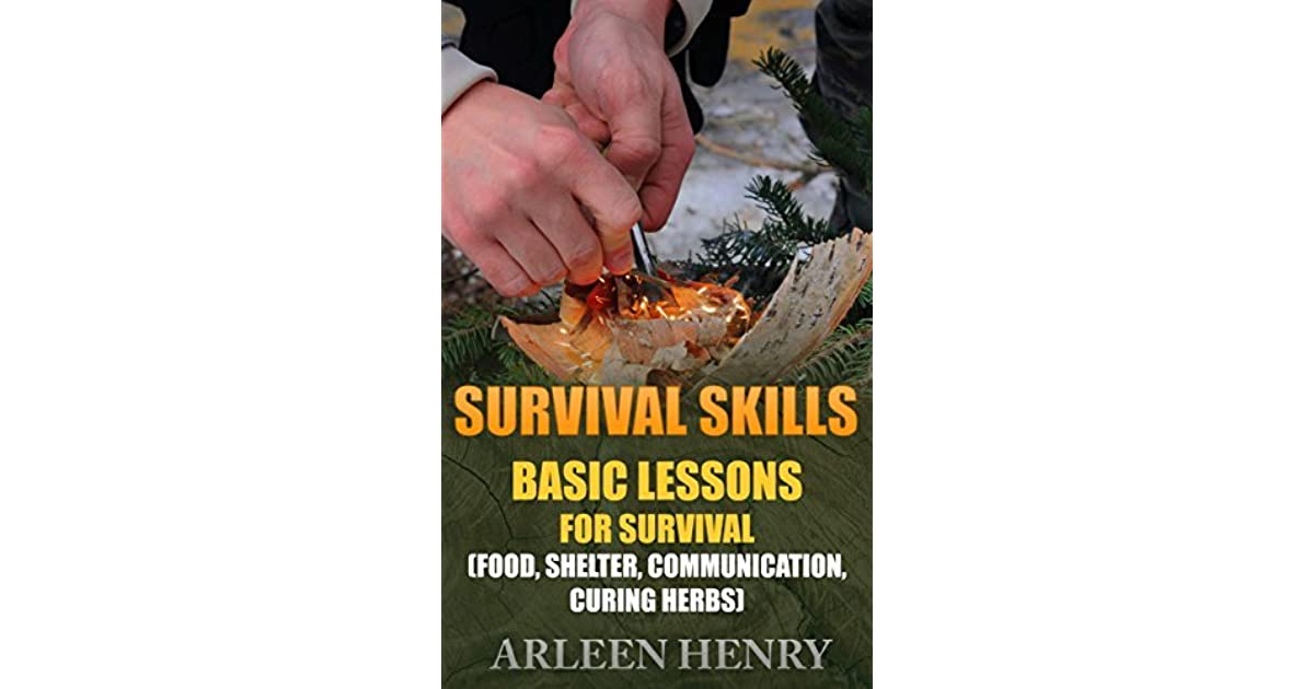 Survival Skills: Basic Lessons For Survival by Arleen Henry