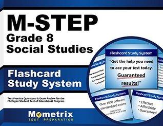 M-Step Grade 8 Social Studies Flashcard Study System: M-Step Test