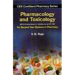 CBS Confident Pharmacy Series: Pharmacology and Toxicology - For Second Year Diploma in Pharmacy