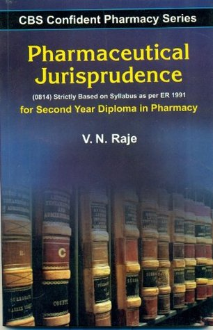 CBS Confident Pharmacy Series: Pharmaceutical Jurisprudence- For Second Year Diploma in Pharmacy