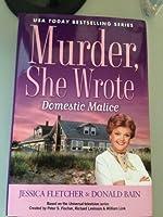 Murder, She Wrote Domestic Malice