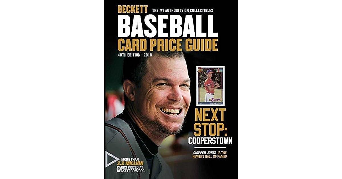 Beckett Baseball Card Price Guide 40 By Beckett Media
