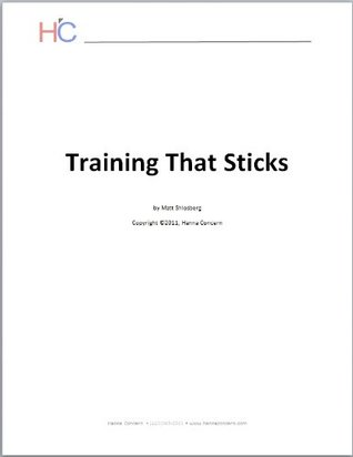 Training That Sticks - Special Report