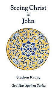 Seeing Christ in John: Seeing Christ as the Son of God (God Has Spoken - Seeing Christ in the New Testament Book 4)