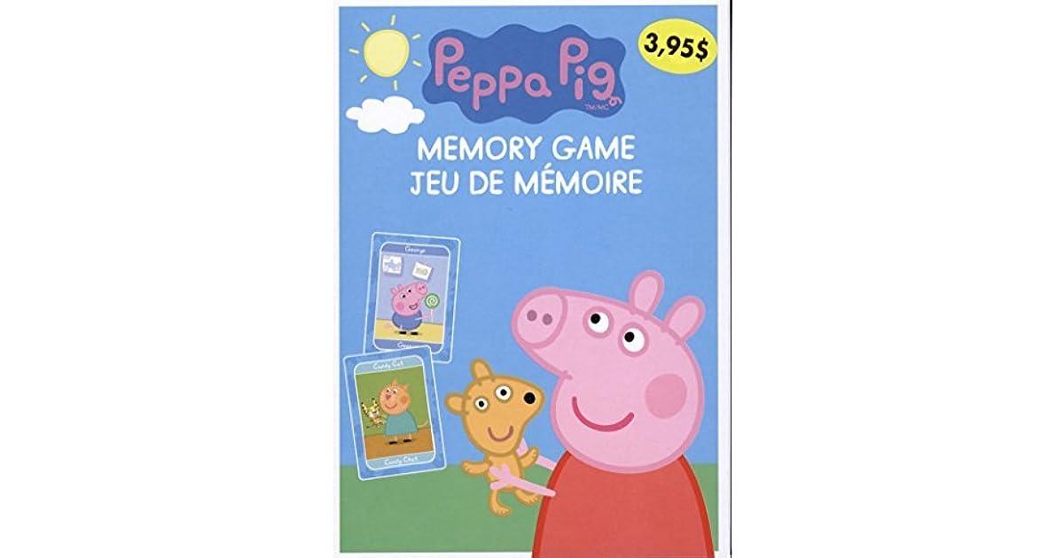 Peppa Pig Jeu De Memoire By Collectif