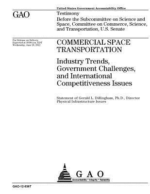 Commercial Space Transportation: Industry Trends, Government Challenges, and International Competitiveness Issues