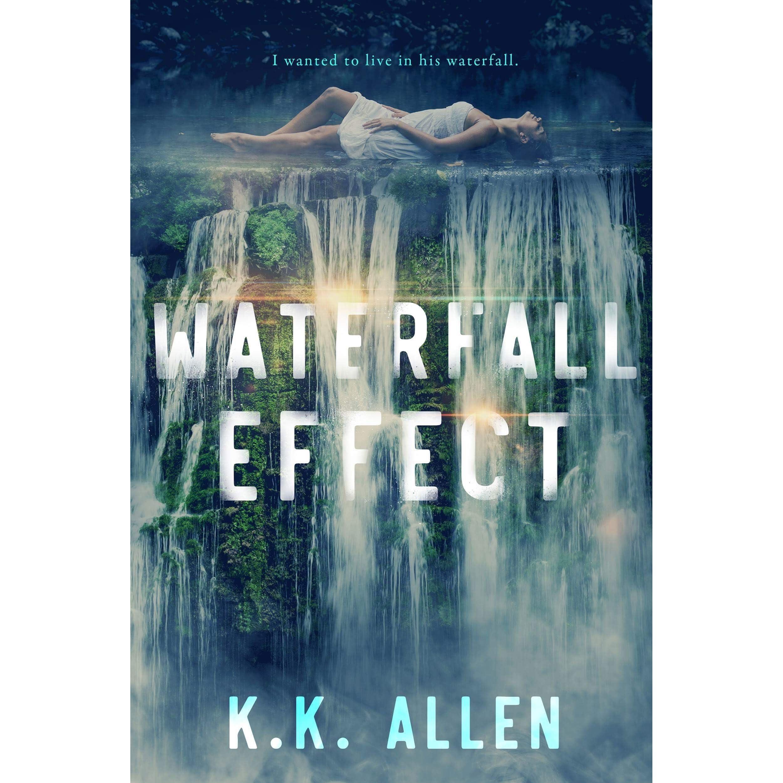 Waterfall Effect By Kk Allen