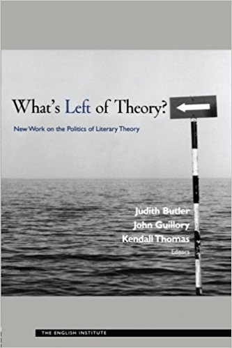 [Judith Butler] What's Left of Theory