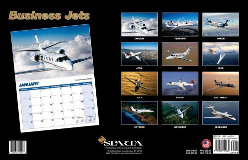 Business Jets 2008 Deluxe Wall Calendar  by  NOT A BOOK