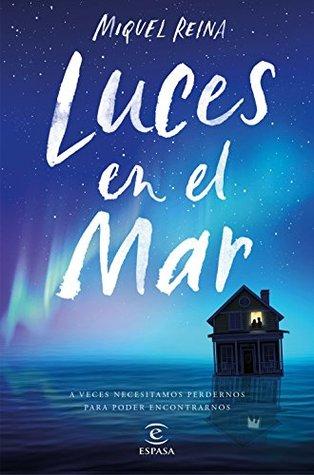Portada de la novela de aventuras Luces en el mar, de Miquel Reina