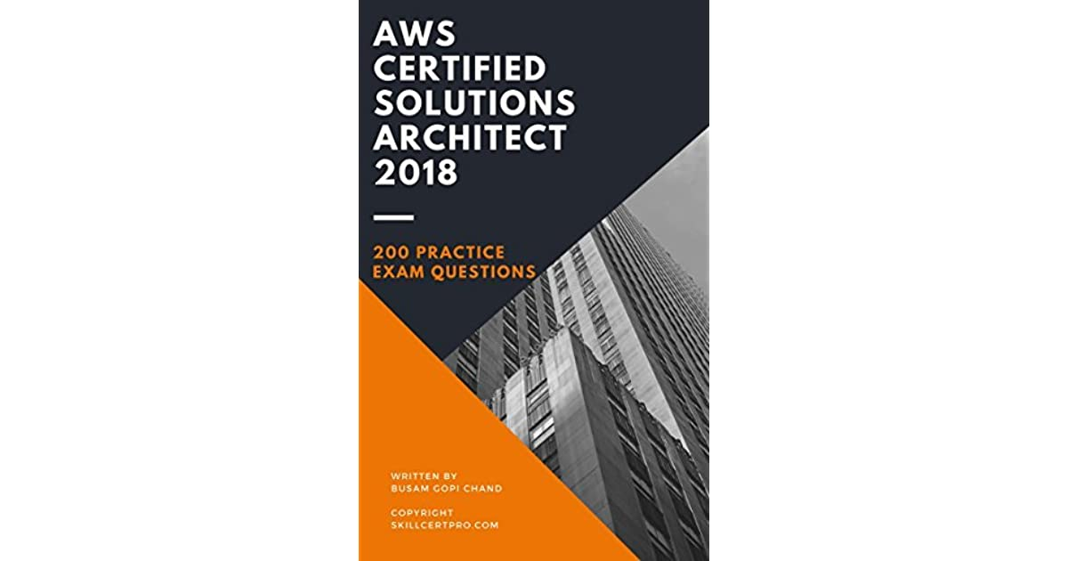 AWS Certified Solutions Architect 2019 Practice Exam