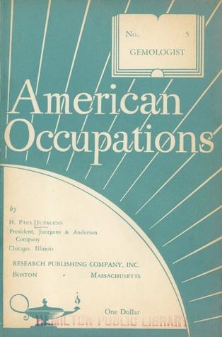American Occupations Gemologist