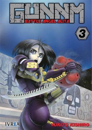 Gunnm - Battle Angel Alita, tomo 3 by Yukito Kishiro