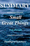 Summary   Small Great Things: by Jodi Picoult (Small Great Things: A Chapter by Chapter Summary - Book, Audible, Audiobook, Hardcover, Paperback, Summary Book 1)