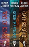 The Stormlight Archive, Books 1-3: (The Way of Kings, Words of Radiance, Oathbringer)