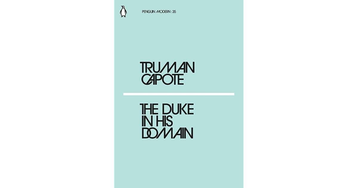 The duke in his domain essay