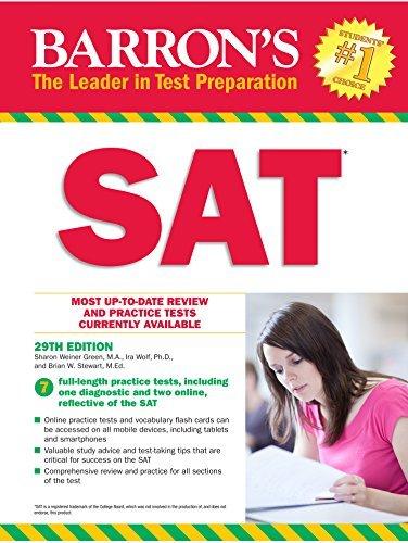 Barron's SAT, 29th Edition