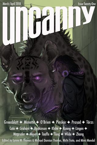 Uncanny Magazine Issue 21 by Lynne M. Thomas