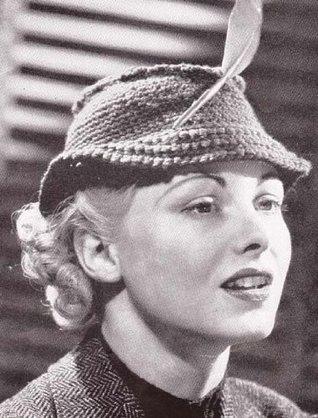 Vintage Crochet Pattern Riding Hat Cap Needlecrafts EBook Download