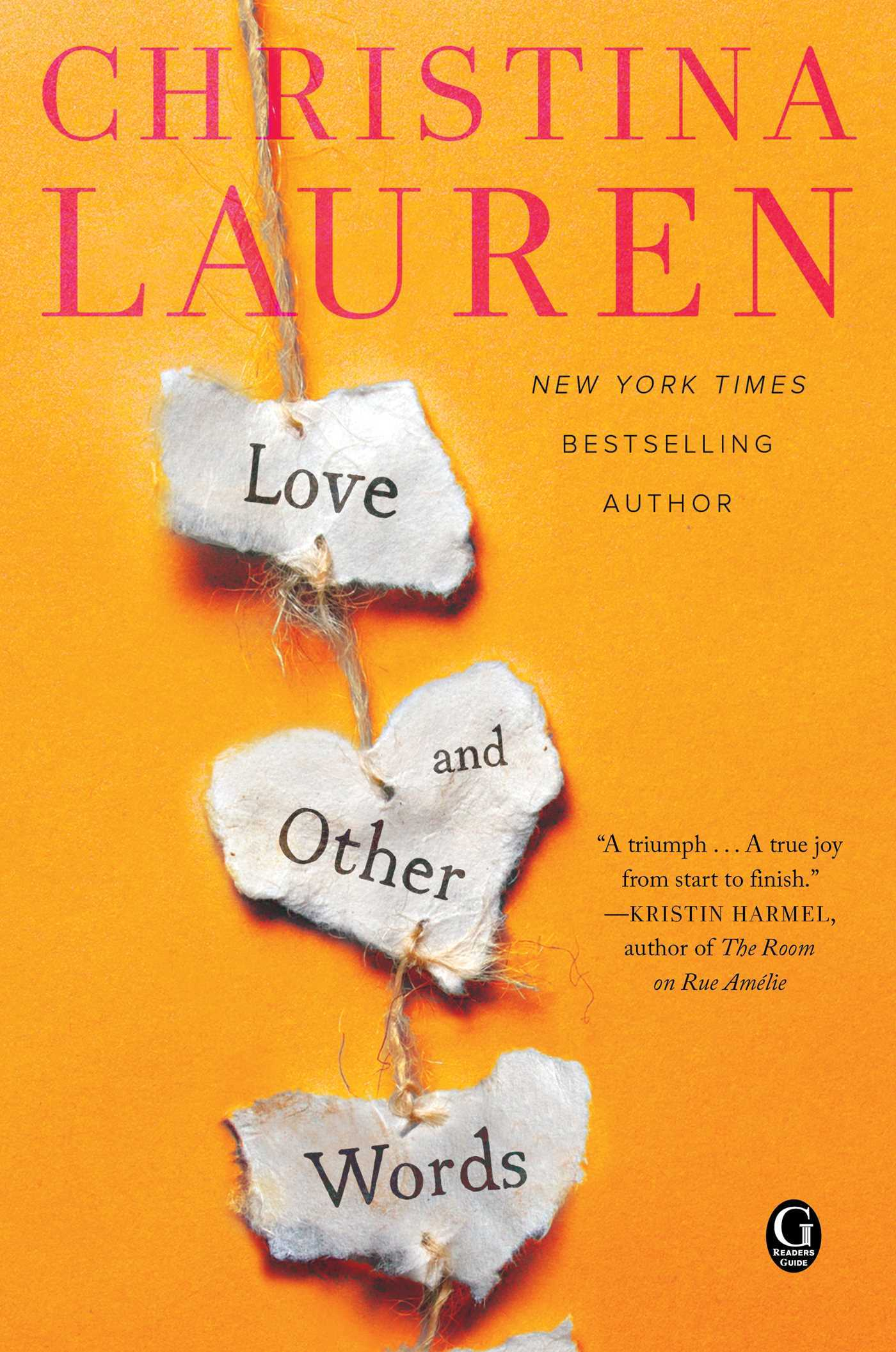 Lauren, Christina - Love and Other Words