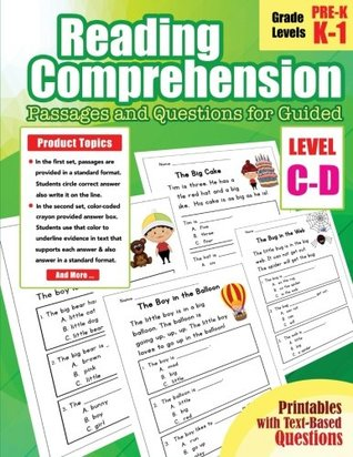 Reading Comprehension Passages and Questions for Guided ...