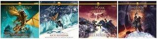 Complete Heroes of Olympus series Audiobook Set: By Rick Riordan