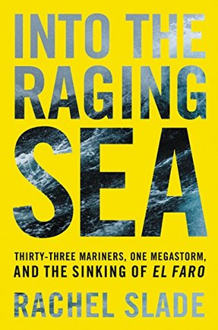 Image result for into the raging sea book cover